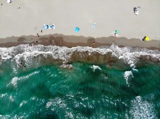 Pearl Beach Ulcinj aus der Luft