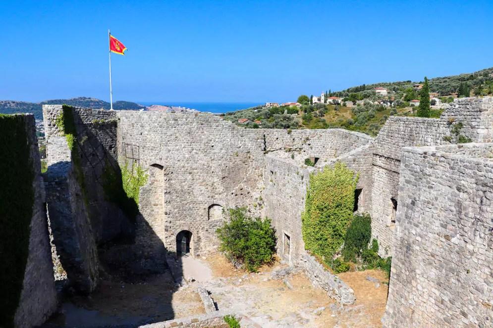 Aussicht Festung Stari Bar