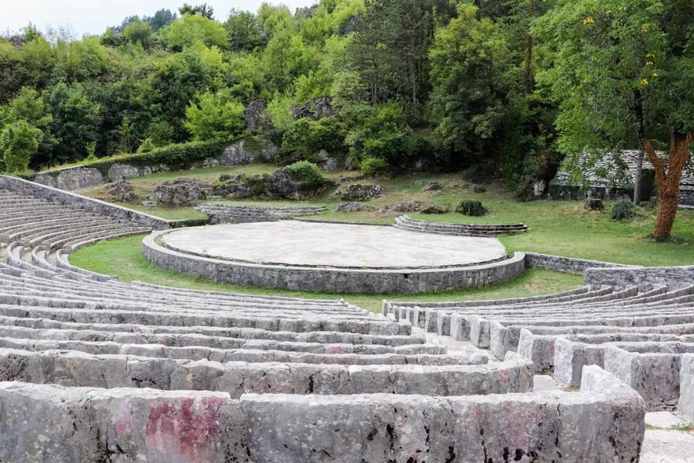 Amphitheater in Cetinje