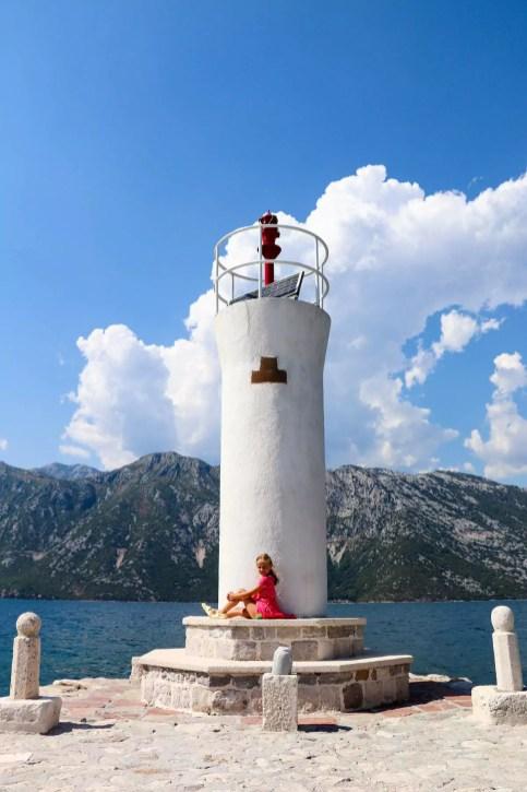 Leuchtturm Gospa od Škrpjela