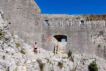 Mauer Festung Kotor