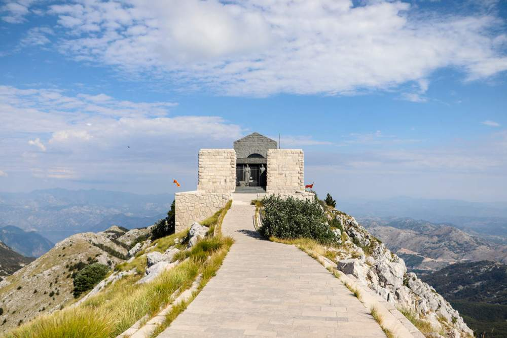 Njegos-Mausoleum in Lovcen Nationalpark