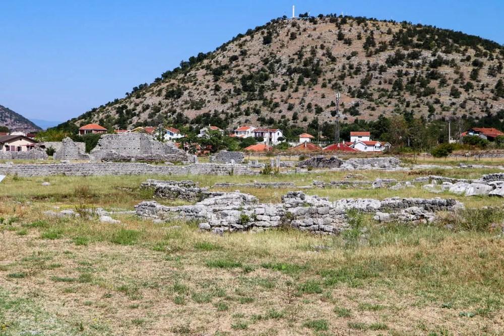 Ruinen von Duklja