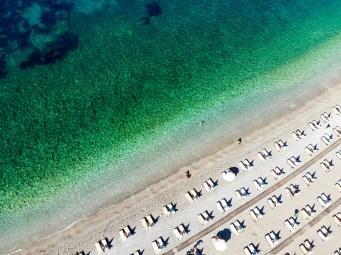 Kamenovo Beach Drohnenaufnahme