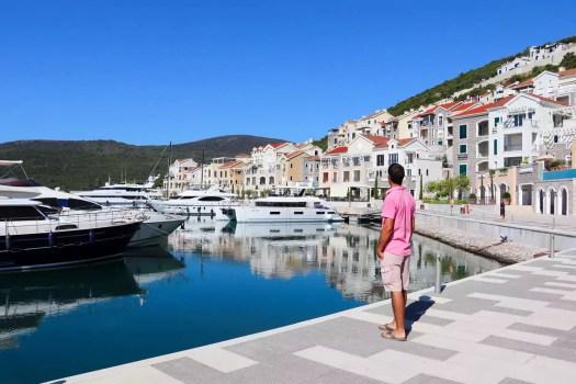 Luštica Bay in Montenegro