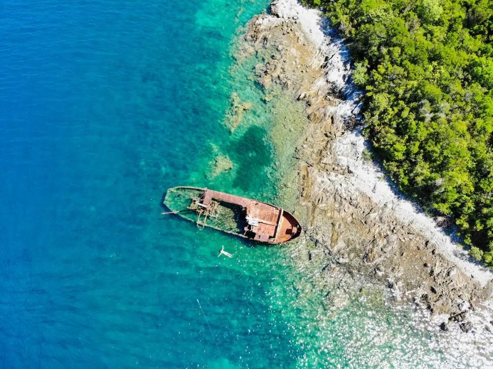 Schiffswrack Rose Montenegro