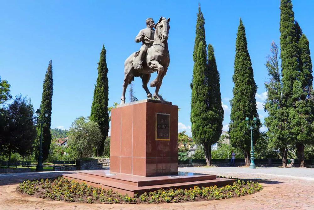 Statue vom König Nikola