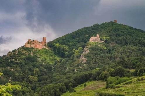 Die Burgen von Ribeauvillé