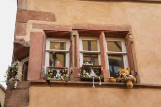 Fensterdekoration Riquewihr