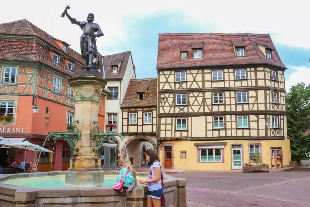 Schwendi Fountain in Colmar