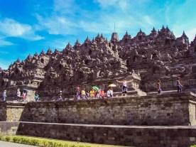 Borobudur auf Java