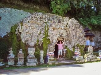 Eingang Elefanten Tempel Bali