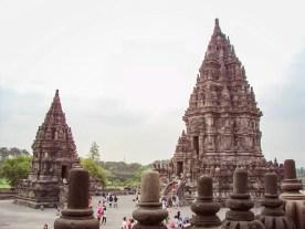 Prambanan auf der Insel Java