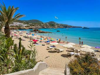 Strand Cala Tarida Ibiza