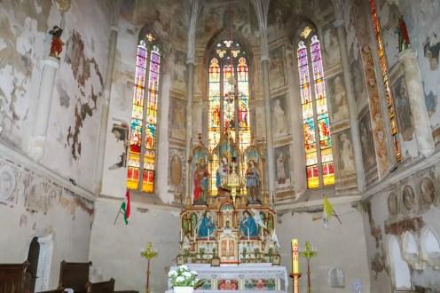 Altar der Kirche Keszthely
