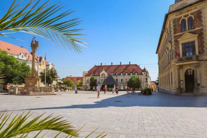 Hauptplatz Keszthely