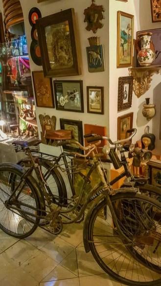 Alte Fahrräder im Nostalgiemuseum