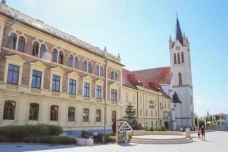 Sitzstatue Festetics Keszthely