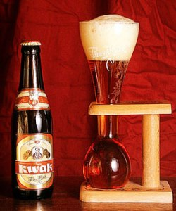Kwak beer and Coachman's glass
