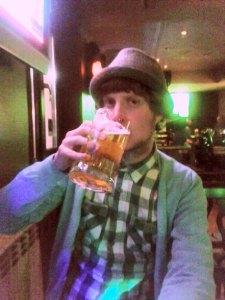 Bansko beer comes in 1l tankards