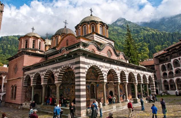 Rila Monastery, like something out of Shangri-La