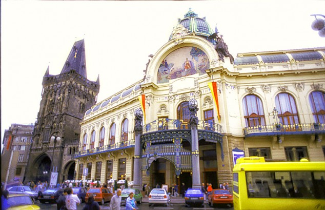 The Municipal House in Prague