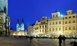 Grand Hotel Praha – A Hotel Facing the Astronomical Clock
