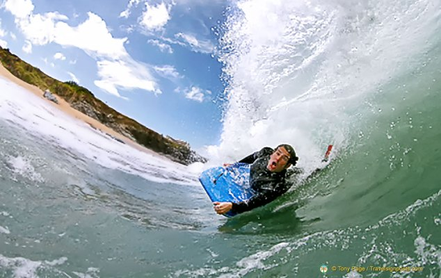 Cornwall surfing