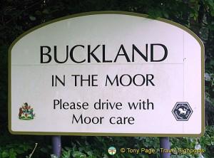 Buckland Moor sign