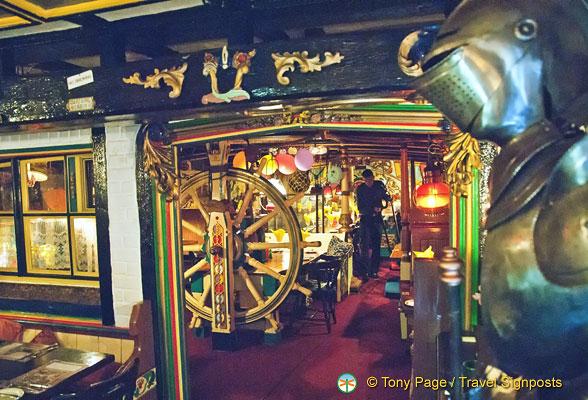 Admiral Benbow Inn in Penzance