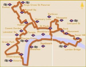 Jubilee Walkway route