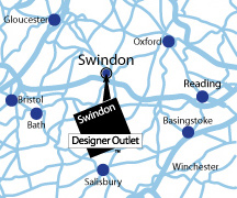 Swindon Designer Outlet directions