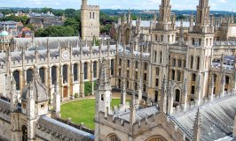 An Aerial View of Oxford – The City of Dreaming Spires