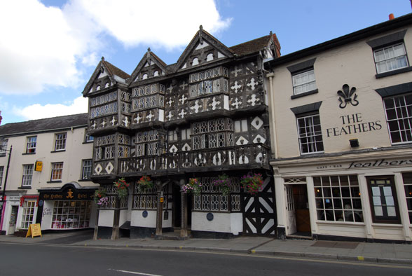 Feathers Hotel, Ludlow © Travel Signposts