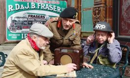 Back to the 1940s at Crich Tramway Village