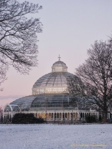 Sefton Parl Park Palm House, a grade II listed Victorian Glasshouse