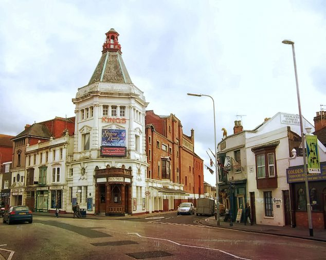The Kings Theatre and Golden Curry (C) Colin Babb