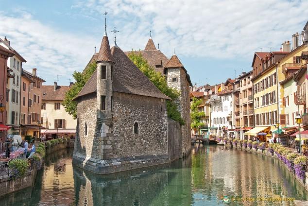 Palais de l'Isle, Little Venice, Annecy, Haute-Savoie