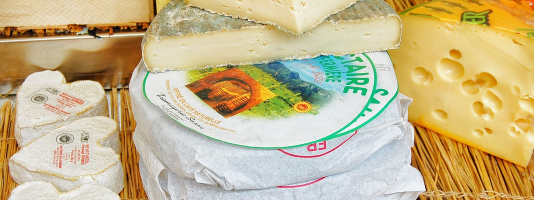 French Cheeses - Where They're Produced