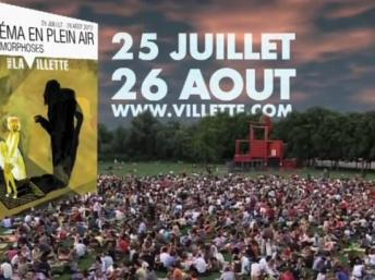 open air cinema parc Villette