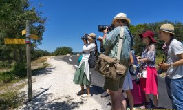 A Walk In The Luberon Countryside With Some Intrepid Travellers