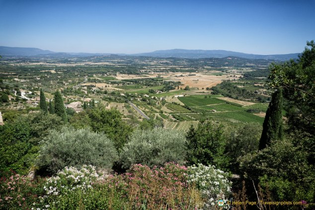 Panoramic views from Gordes