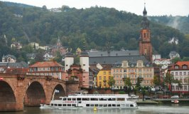 Enjoy The Sights of Heidelberg On A Neckar River Cruise
