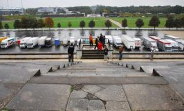 Zeppelin Field – A Part of the Nazi Party Rally Grounds