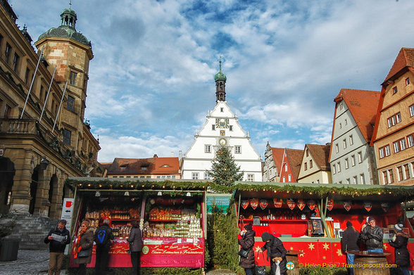 A Picture Perfect Rothenburg Christmas Market | Germany Travel