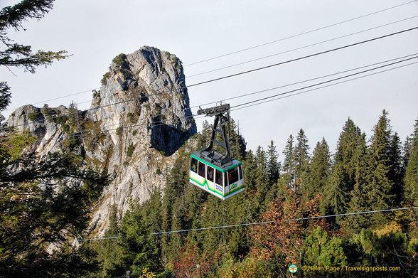 Tegelberg cable car
