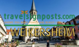 Weikersheim:  an interesting little place on Germany's Romantic Road.