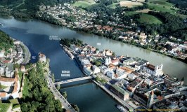 Passau, City of Three Rivers