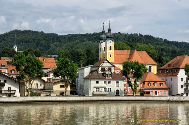 Engelhartszell on the Danube