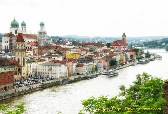 Danube River at Passau